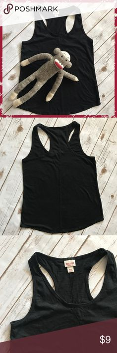 """Mossimo Supply Co. Black Tank Top Size M 60% cotton, 40% polyester, medium stretch Measurements: shoulder 11"""", chest 16.5"""", length 25"""" **Please read first 2 comments** Mossimo Supply Co. Tops Tank Tops"""