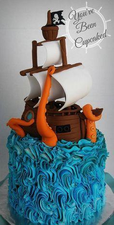 Ocean Vengeance Cake                                                       …