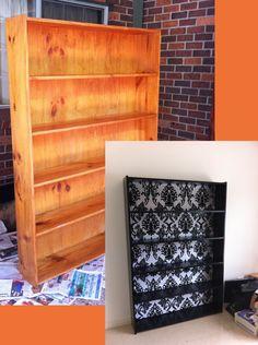 DIY Bookcase Renovation