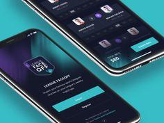 League FaceOff App