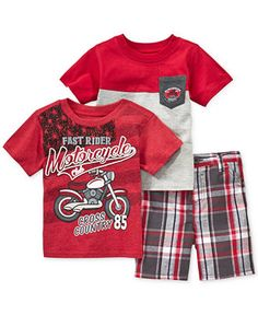 Nannette Baby Boys' 3-Piece Motor Garage Set - Kids Baby Boy (0-24 months) - Macy's