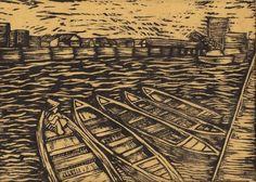 seni grafis pelabuhan
