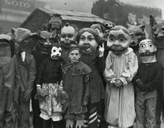 Scary Halloween costumes from the past