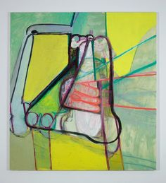 Amy Sillman, Nose, 90 x 84 in., oil on canvas, 2010