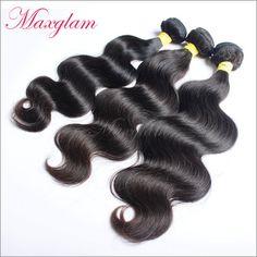 Maxglam Hair Brazilian Body Wave virgin hair 3pcs/Lot Brazilian Hair weave bundles full cuticle intact Free Shipping - http://www.aliexpress.com/item/Maxglam-Hair-Brazilian-Body-Wave-virgin-hair-3pcs-Lot-Brazilian-Hair-weave-bundles-full-cuticle-intact-Free-Shipping/32222807329.html