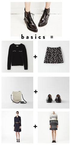 tuesday's girl: basic black / sfgirlbybay