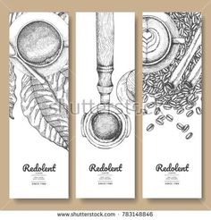 Sketch drawing art for coffee packaging label.Use by Pen ink.Vector and illustra… Sketch drawing art for coffee packaging label.Use by Pen ink.Vector and illustration. Coffee Shop Branding, Coffee Logo, Coffee Poster, Coffee Packaging, Coffee Shop Design, Food Packaging, Coffee Labels, Chocolate Packaging, Beer Labels