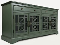 """Craftsman Antique Jade 70"""" Media Unit"""