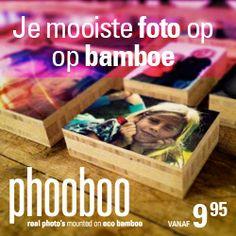 Foto op bamboe bij fairtraderoute
