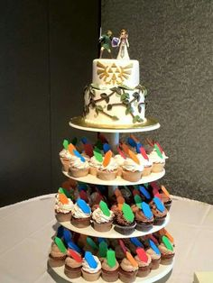 Legend of Zelda wedding cake (if I had 50 or less people)