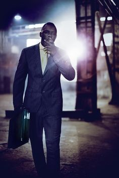 Anthony Mandler - Photographers - Editorial - Gq Uk Idris Elba | Michele Filomeno