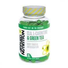 Green tea Applied Nutrition CLA L-Carnitine And Green Tea 100 Gels. Best for your diet and weight management program.