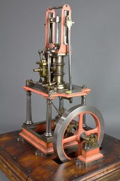 Table engine, circa 1830, the operational model with : Lot 6540