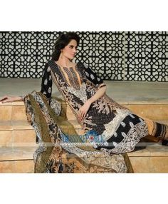Designer Embroidered Lawn Collection 2015 By HSY New York
