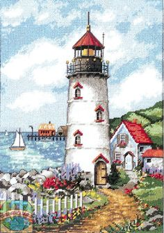 Dimensions - Lighthouse Cove - Cross Stitch World