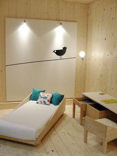 Benjamim linha mobiliário by Magda Alves Pereira, via Behance nice toddler bed and desk