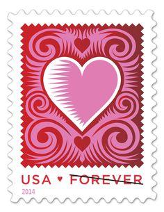 ANNIVERSARY WEDDING LOVE VALENTINE/'S DAY WM RUBBER STAMPS FEB 14 COLLAGE HEARTS