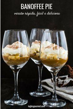 Receita de Banoffee Pie: versão rápida, fácil e deliciosa   Inglês Gourmet