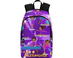 Ballet Bag - Dance Bag - Personalized Dance Bag - BrownKidSwagcom Black  Backpack, Laptop Backpack d2900dbb68