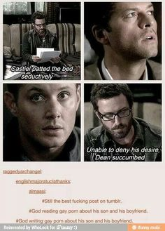 Image result for tumblr supernatural post swiggity swooty