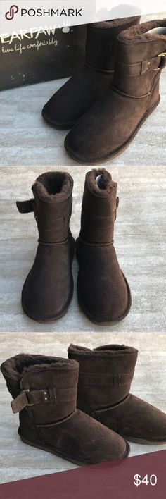 BearPaw Tessa Chocolate Brown Boots Brand new BearPaw Tessa Chocolate Brown Boots, size 8, open to offers BearPaw Shoes Winter & Rain Boots