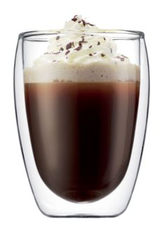 The Pavina Double Wall Glasses keep hot drinks hot without burning fingers and cold drinks cold without messy condensation, making them the ideal vessels for every beverage, from cocktails to cocoa. So you'll only need to buy one type of glass for your home!