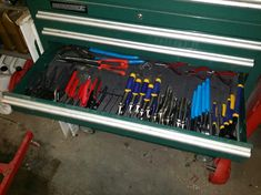 Home Made tool organizers... Pliers and Screw Drivers - The Garage Journal Board