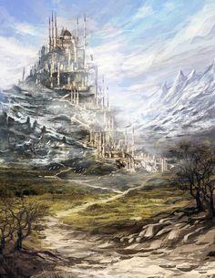 Fantasy city by Zicuta