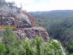 What a great trip to Colorado.  The train ride up to Silverton was just one of many highlights.