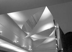 Plymouth Civic Centre Atrium Fabric Sails