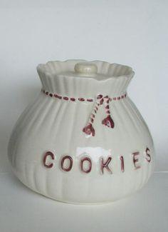 Sack of Cookies - Vintage Cookie Jars - Jen's by Scabahos