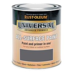 Find Rust-Oleum Universal All Surface Gloss Paint & Primer - Racing Green - at Homebase. Visit your local store for the widest range of paint & decorating products. Spray Paint Cans, White Spray Paint, Gloss Paint, Paint Primer, Wood Laminate, Matte Black, Rust, Surface, Ebay
