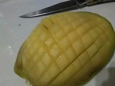 l'astuce est de couper finement la mangue et c'est manifique