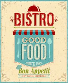 Promotional Poster Retro Style