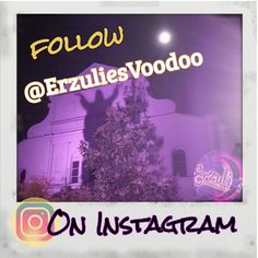 "For more up close and personal peeks about everything mystical, magical, Voodoo and ""quirky"" about the French Quarter and New Orleans, follow us on Instagram  @ ErzuliesVoodoo ~ join us! #mystical, #magical, #Voodoo, #Occult, #FrenchQuarter, #NewOrleans,  #Instagram, #Followback, #Friends, #ghosts, #haunted, #historic, #haunting, #cemetery, #NewOrleansVoodoo, #Magic, #spirit, #ghost"