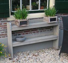 1000 images about steigerhout buiten outdoor on pinterest van tuin and met - Deco massief buiten ...