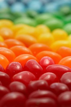 Rainbow Jelly Beans...................... :*) mmm (*: