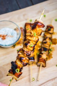 These Honey Sriracha Chicken Kebabs are quick and simple to make. A perfect low-carb lunch or dinner recipe that's packed with flavor.