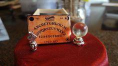 Dollhouse Miniature Crystal Ball Ouija Board by Magicalminatures