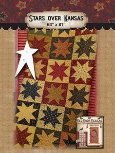 Stars over Kansas pdf pattern