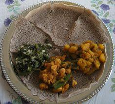 ethiopian veggie recipes (for combo plate)