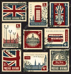 set of stamps - Google Search
