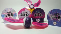 Nerf Rebelle McDonalds Happy Meal Toys 2015 Wing Ball and Spinnerang