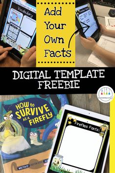 Read ideas about firefly research and grab a digital template freebie for Google Drive or iPads.