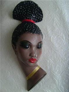 Image result for 1950s Cortendorf 'African lady' figurine