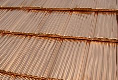 Copper shake roofing - beauty of natural copper roofs by Future Roof
