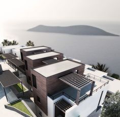 Bodrum: Panclup by Marco Lombardini, via Behance Seaside Resort, Behance, Mansions, House Styles, Green, Modern, Home Decor, Trendy Tree, Decoration Home