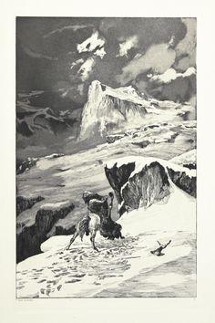Battling Centaurs, Max Klinger, Intermezzi, Opus IV, Plate V