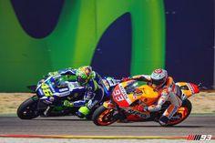 MotoGP第14戦アラゴン マルケス VS ロッシ