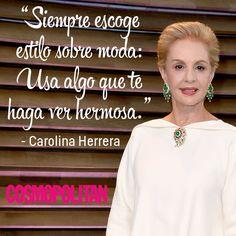 10 'Fashion Quotes' de Carolina Herrera que te inspirarán